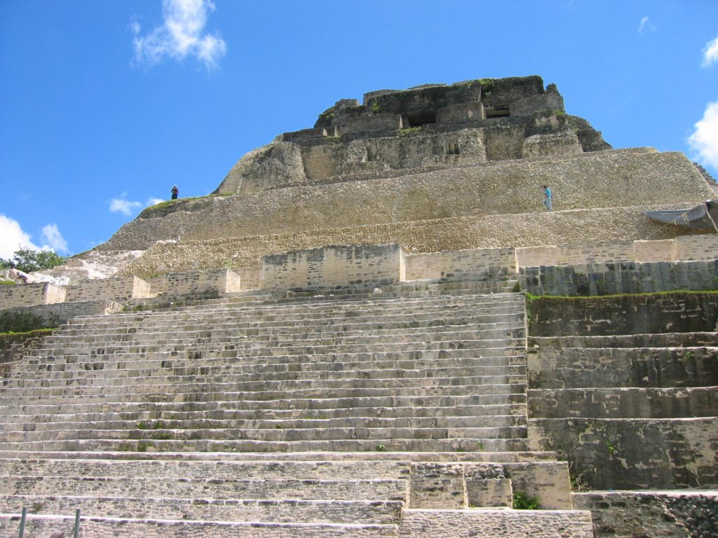 El Castillo Frieze Xunantunich Belize
