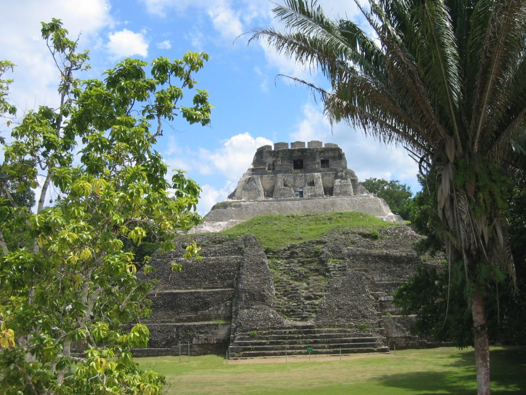 Xunantunich Belize Temples