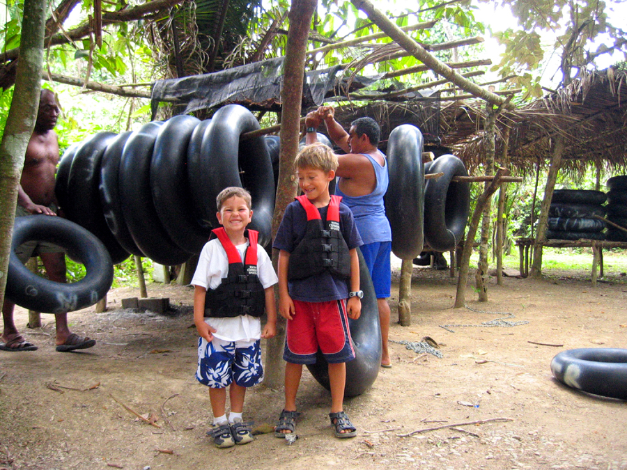 belize cave tubing for children