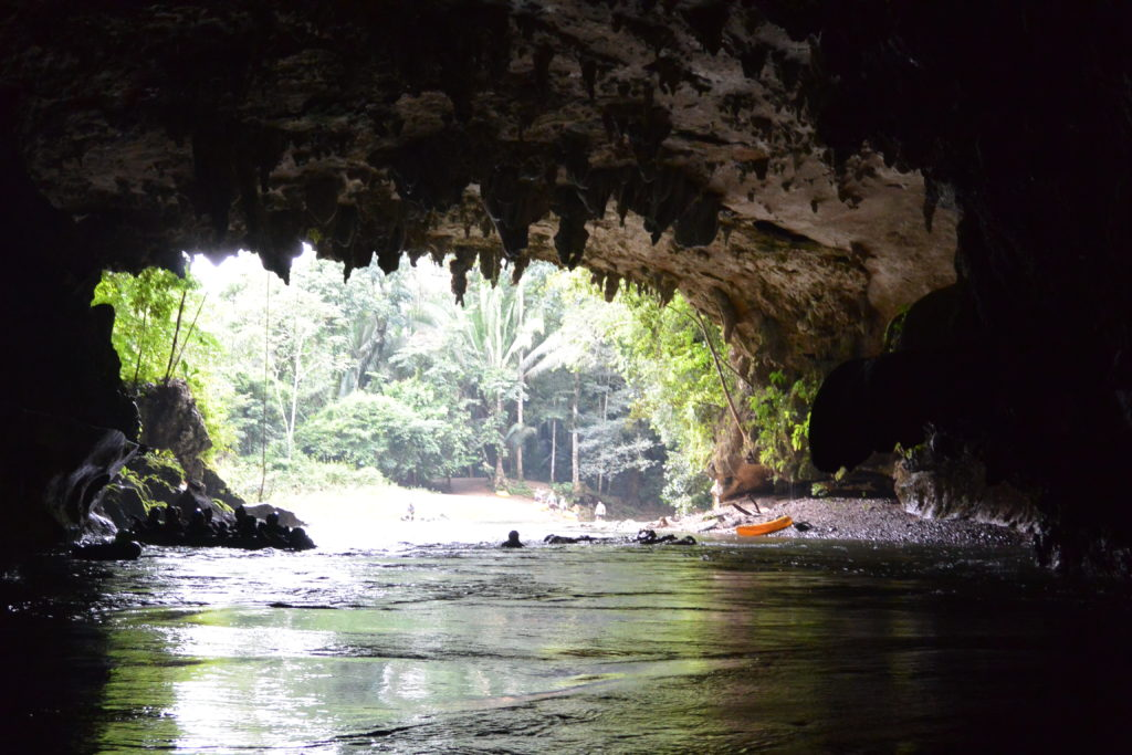 Belize caves cave tubing
