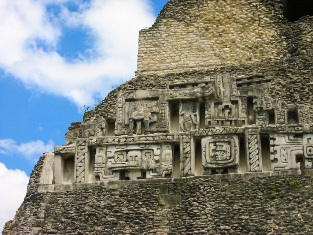 Xunantunich El Castillo Frieze