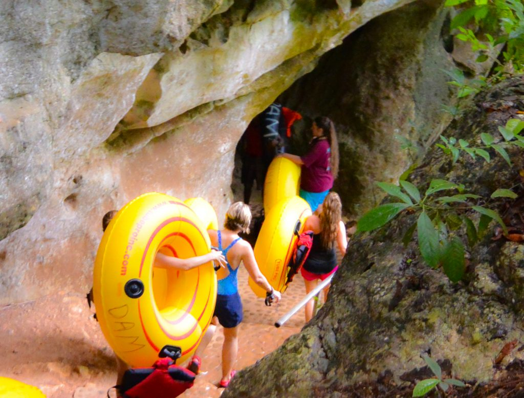 Belize cave tubing dry caves system belize