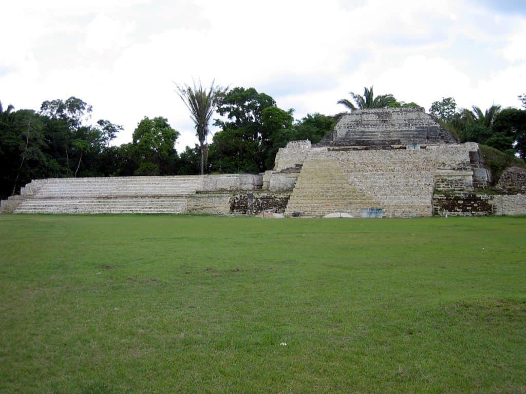 Altun HA temples belize