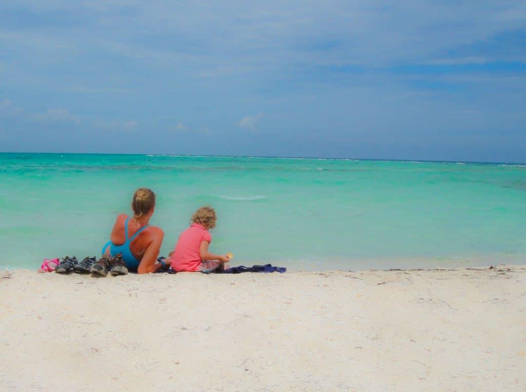 Goff's caye beach