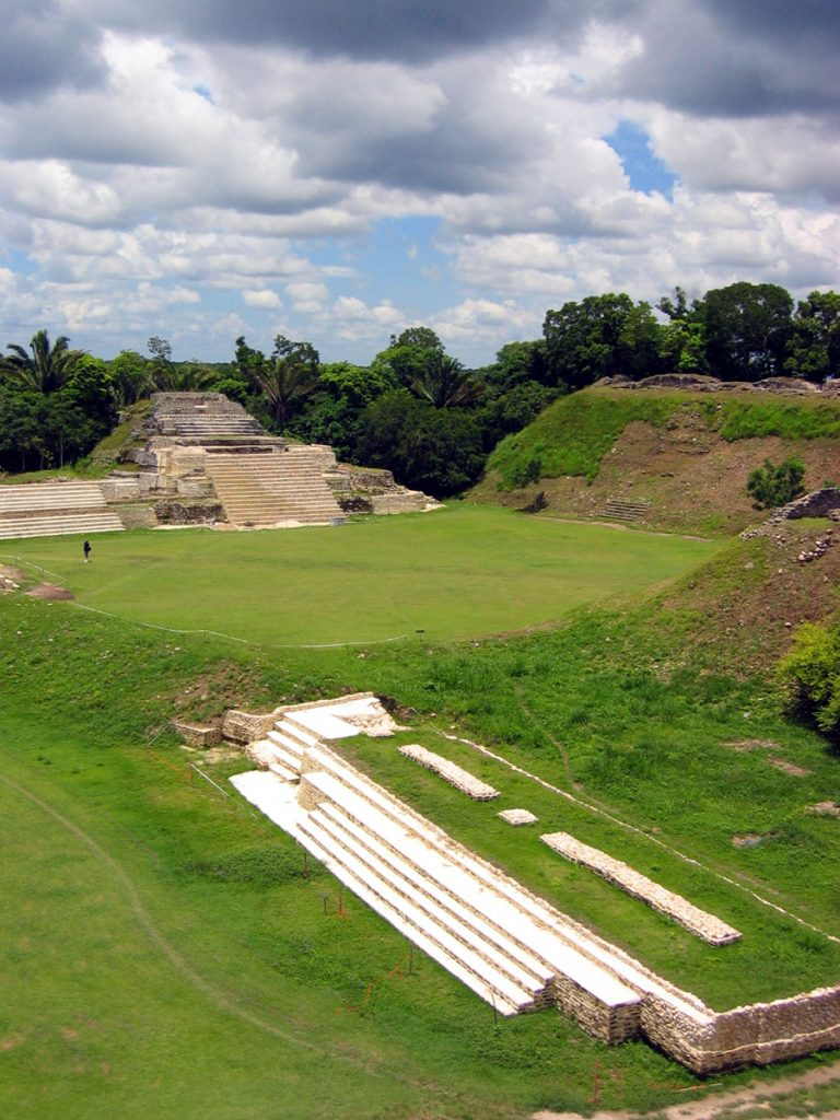 Altun Ha Ceremonial grounds Belize