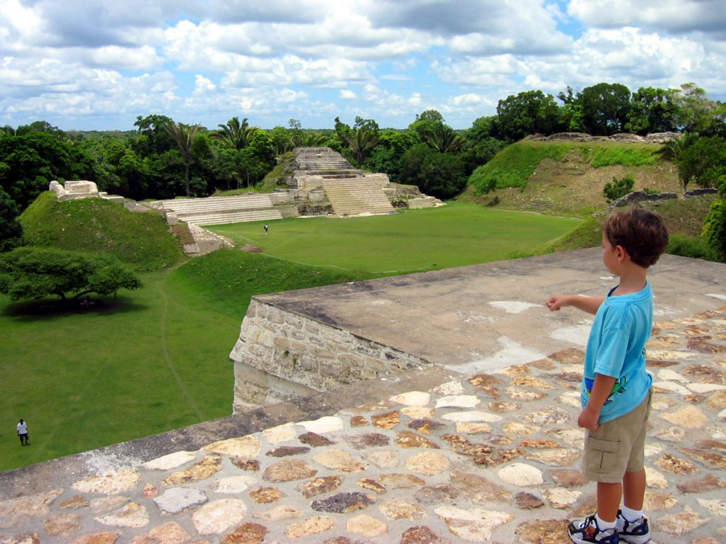 Altun Ha main temple belize