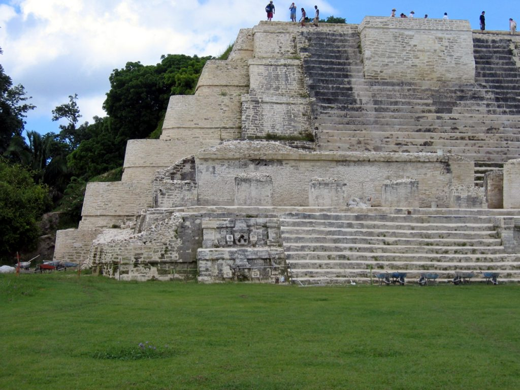 Altun Ha Belize The Main Temple