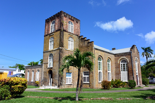 The St John Cathedral in Belize