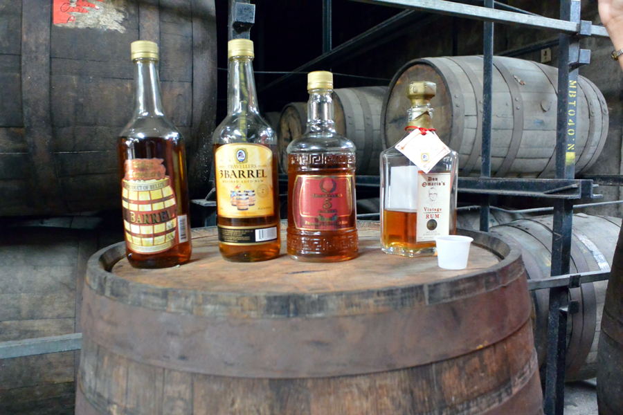 Belize Rum factory tour and rum tasting