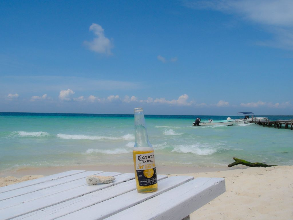 Belize Goff's corona commercial