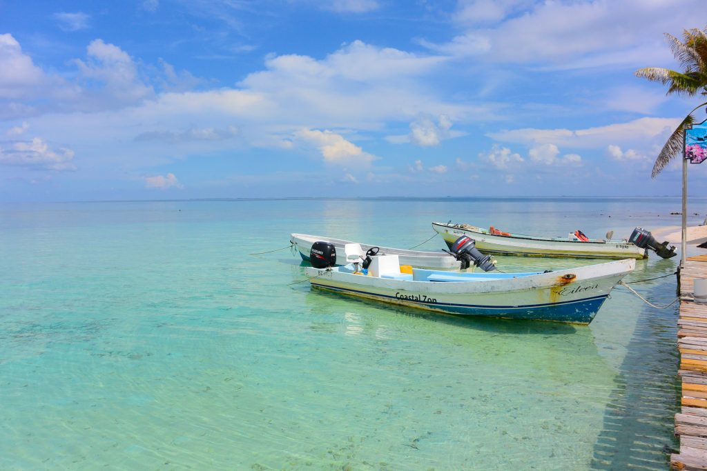 Boats to Goff's Caye